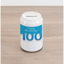 100 Years Birthday Can Piggy Bank