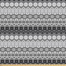 Avrupa Mikrofiber Parça Kumaş Akromatik Kar Tanesi ve Mistik Desenler