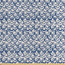 Asya Saten Parça Kumaş Oryantal Squama Deseni ile Tekrarlı Süsleme
