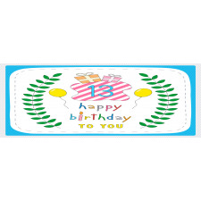 13th Birthday Gifts Glass Mug