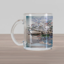 10 Years Floral Art Glass Mug