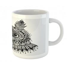 2 Animal Faces Design Mug