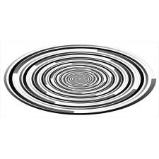 Abstract Art Spirals Mug