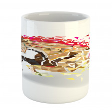 Abstract Art Wild Horse Mug