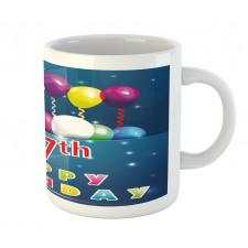 17 Birthday Mug