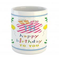 18 Birthday Mug