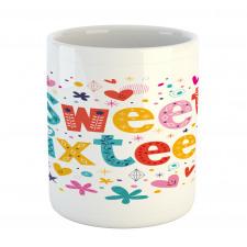 16 Blossoms Mug