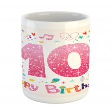 10 Years Kids Birthday Mug
