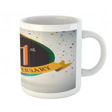 11 Year Retro Style Mug