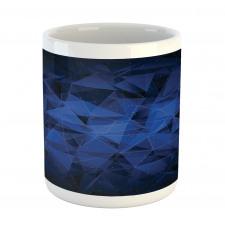 Abstract Atomic Stars Mug