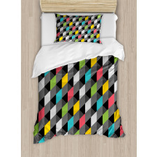 Abstract Art Style Duvet Cover Set
