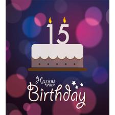 15 Birthday Cake Duvet Cover Set