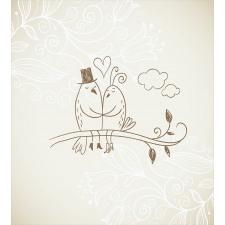 2 Birds Love Duvet Cover Set