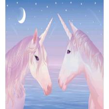 2 Akhal Teke Unicorns Duvet Cover Set