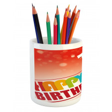 15th Birthday Concept Pencil Pen Holder
