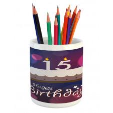 15 Birthday Cake Pencil Pen Holder