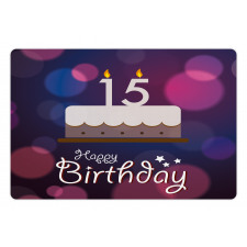 15 Birthday Cake Pet Mat