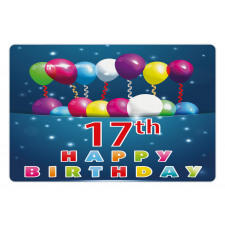17 Birthday Pet Mat