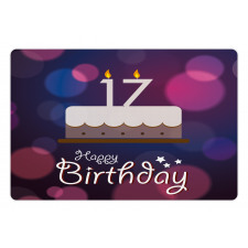 17 Party Cake Pet Mat