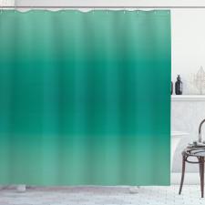 Duş Perdesi Yeşilin Tonları
