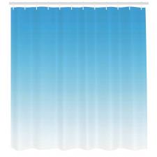 Duş Perdesi Mavi ve Beyaz Desenli