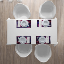 17 Party Cake Place Mats