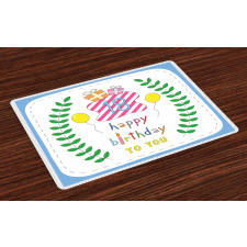 18 Birthday Place Mats