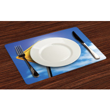 16 Road Place Mats