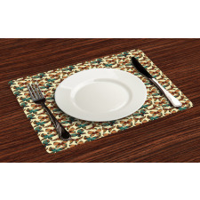 Abstract Art Wings Place Mats
