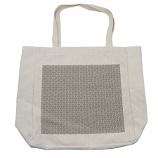 Abstract Art Grid Shopping Bag