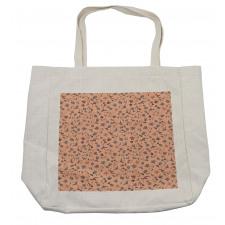 Abstract Autumn Botany Shopping Bag