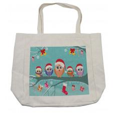Owl Family Tree Shopping Bag
