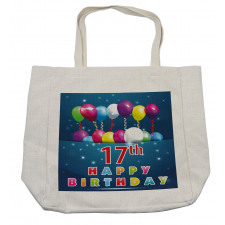 17 Birthday Shopping Bag
