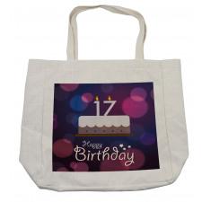 17 Party Cake Shopping Bag