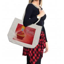 100 Old Cupcake Shopping Bag