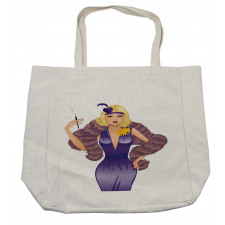 1930s Style Blondie Shopping Bag