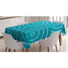Abstract Australian Dots Tablecloth