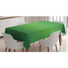 Masa Örtüsü Yeşilin Coşkusu