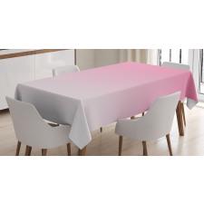 Masa Örtüsü Pembe Beyaz Desenli