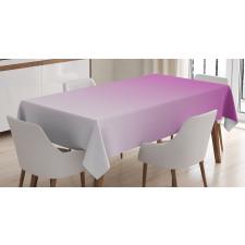 Masa Örtüsü Mor Beyaz Desenli
