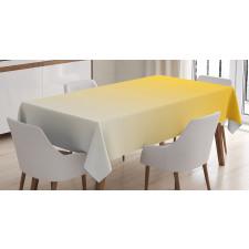 Masa Örtüsü Sarı Beyaz Desenli