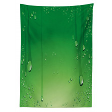 Abstract Art Water Drops Tablecloth