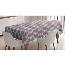 Abstract Arrow Design Tablecloth