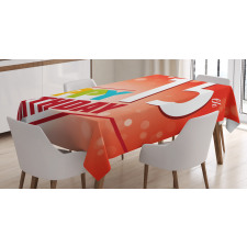 15th Birthday Concept Tablecloth