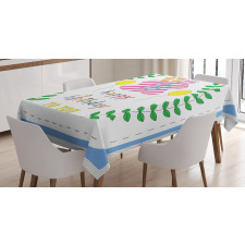 18 Birthday Tablecloth