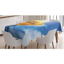 16 Road Tablecloth