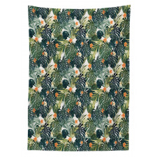 Hawaiian Tropical Flora Tablecloth