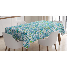 Flora Nature Flower Tablecloth