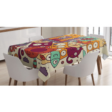Absurd Doodle Tablecloth
