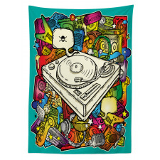 Cube Microphone Tablecloth